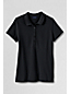Women's Regular Short Sleeve Pique Polo Shirt Slim Fit