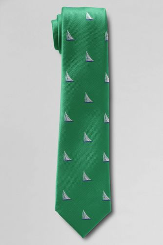 Boys' Ship Icon Tie