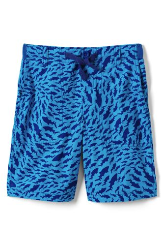 Toddler Boys' Patterned Pull-On Beach Shorts