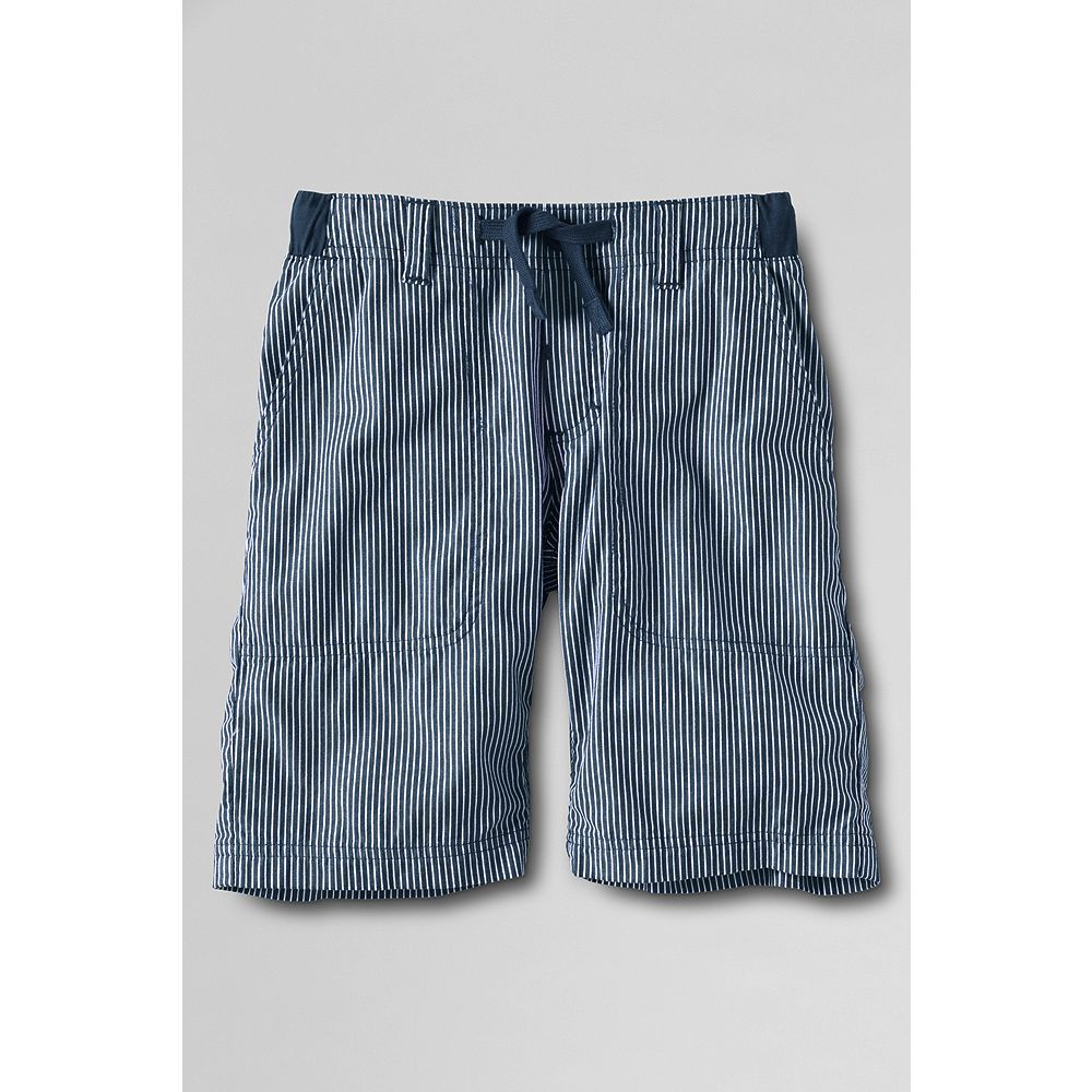 Lands' End Boys' Slim Pull-on Pattern Beach Shorts at Sears.com