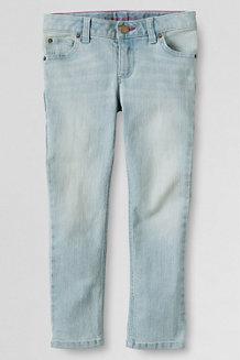 Girls' 5-Pocket Ankle Skimmer Jeans