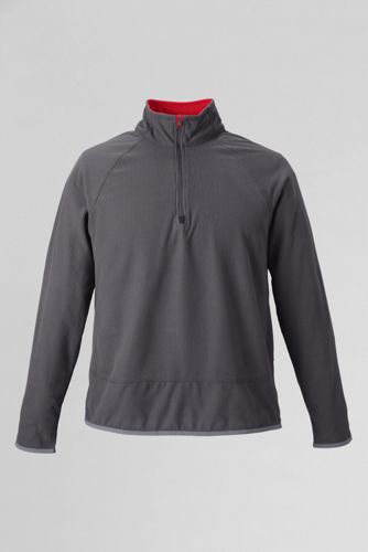 Men's Regular Microgrid Fleece Half-zip Pullover