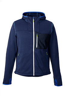 Men's Performance Hooded Zip Jacket