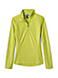 Women's Regular Microgrid Fleece Half-Zip Top