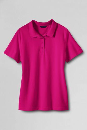 Women's Regular Classic Fit Short Sleeve Piqué Polo