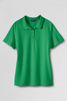 Women's  Classic Fit Short Sleeve Piqué Polo