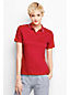 Women's Regular Short Sleeve Tri Colour Tipped Pima Polo