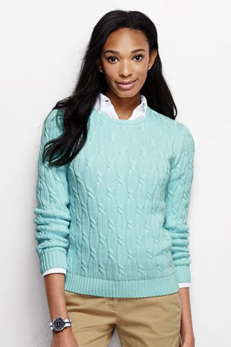 Women's Regular Drifter™ Cable Jumper