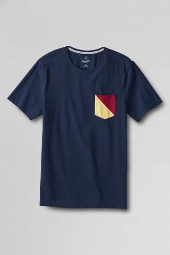 Seaworn™ T-Shirt mit Signaltasche, Slim Fit