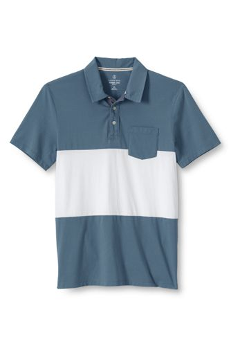 Men's Slim Fit Colourblock Seaworn Polo