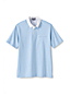Men's Regular Traditional Fit Woven Collar Supima Polo