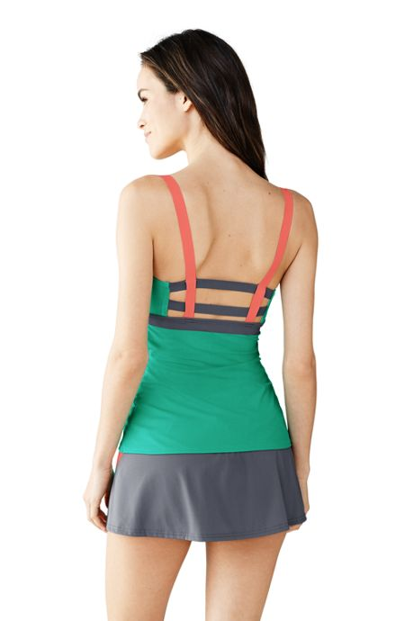 Women's AquaSport Scoop Tankini Top
