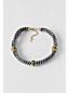 Women's Stripe Rope Short necklace