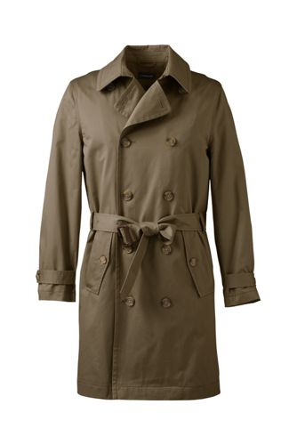 Men's Trench Coat from Lands' End
