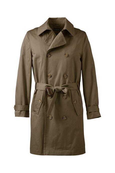 Men's Regular Trench Coat