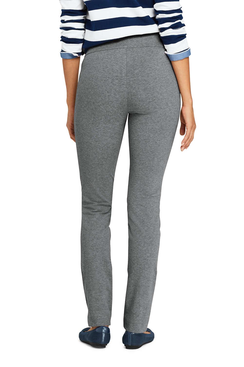 27e61d7fd6877 Women s Starfish Slim Leg Elastic Waist Pants Mid Rise