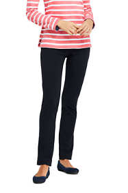 Women's Tall Starfish Slim Leg Elastic Waist Pants Mid Rise