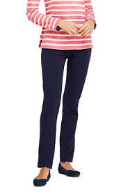 Women's Starfish Slim Leg Elastic Waist Pants Mid Rise