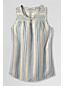 Women's Regular Sleeveless Linen Top