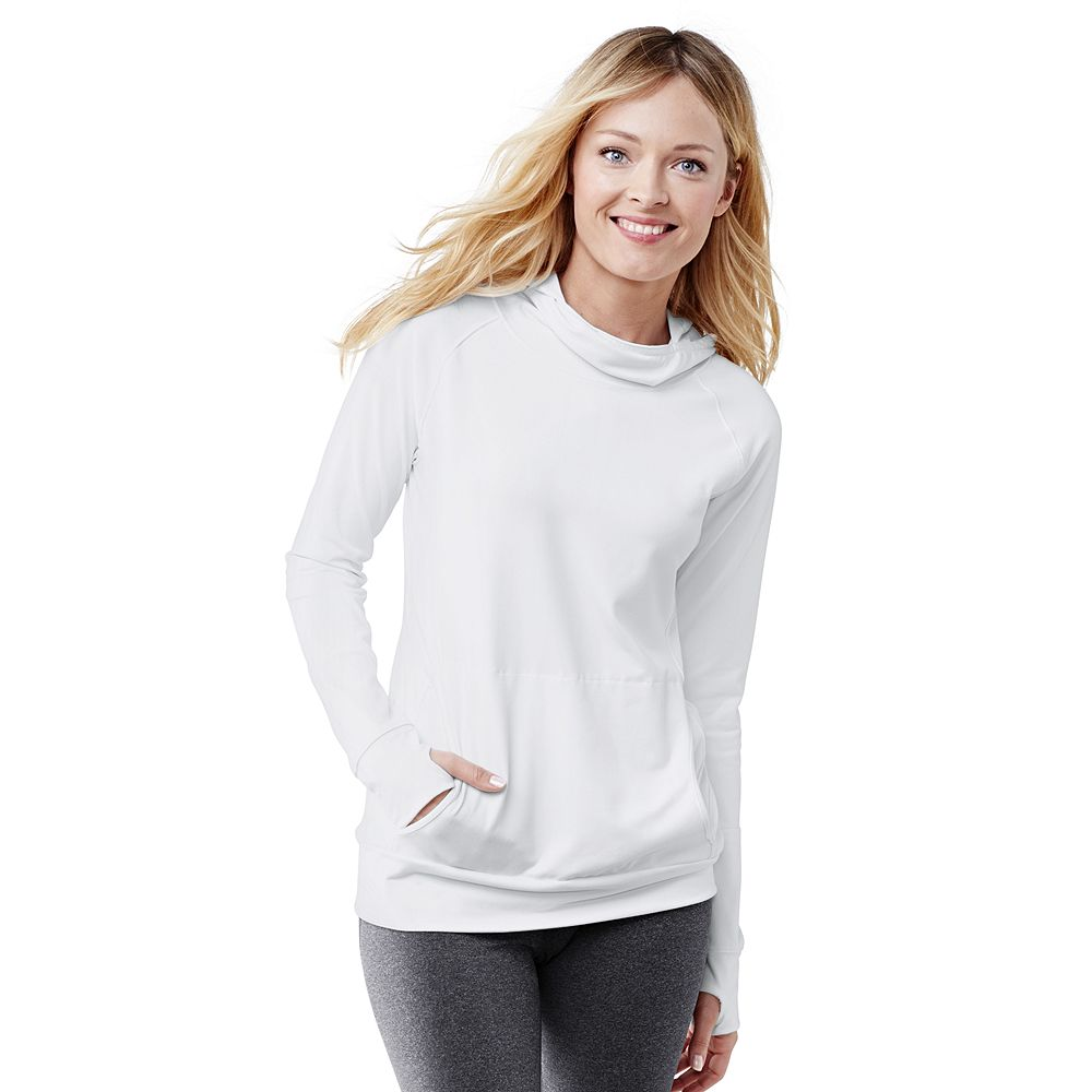 Lands' End Women's Petite Activewear Hooded Top at Sears.com