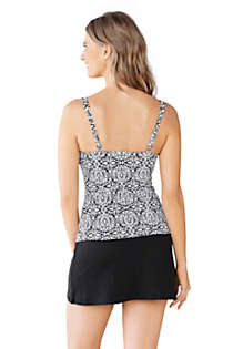 Women's Beach Living Scoop Tankini Top, Back