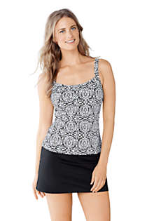 Women's Beach Living Scoop Tankini Top, Front