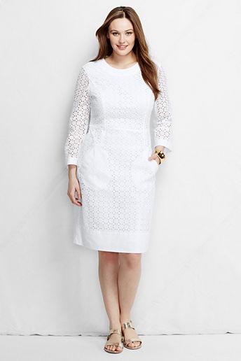 100% Cotton Plus Size Dresses |