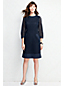 Women's Regular Broderie Anglaise Shift Dress