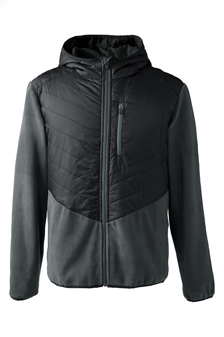 Lands End Hybrid Mens Jacket