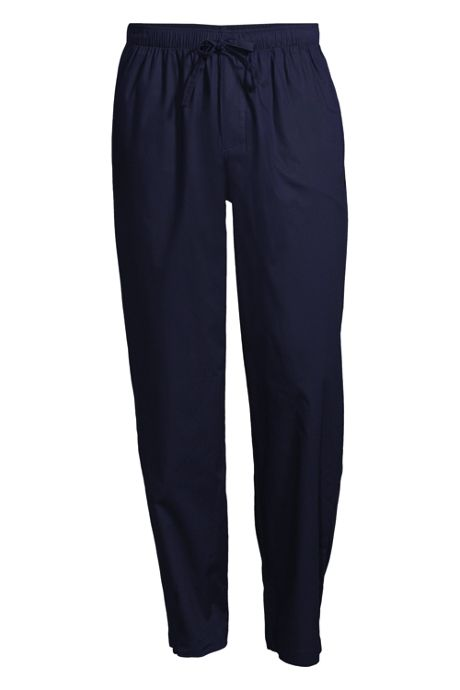 Men's Big Broadcloth Pajama Pants