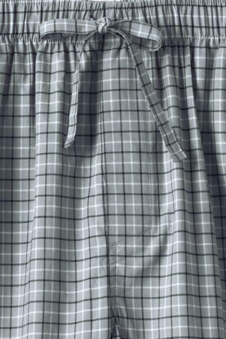 Men's Big Broadcloth Pajama Pants
