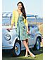 Women's Pattern Sleeveless Crossover Dress