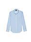 Men's Slim Pinpoint Dobby Straight Collar Shirt