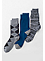 Men's Cotton-rich Dress Socks - 3-pack