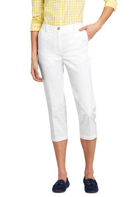 Women's 7 Day Elastic Back Crop Pants