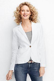 Le Blazer Lin/Coton Femme