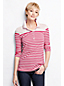 Women's Regular Slim Fit Mixed Stripe Piqué  Polo Shirt
