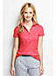 Women's Regular Short Sleeve Slim Fit Pima Polo
