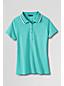Women's Regular Slim Fit Tri-Colour Pima Polo