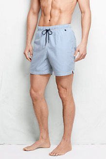 Men's  6˝ Seersucker Swim Shorts