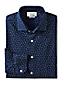 メンズ・スリールームス・シャトルインディゴ・ドレスシャツ/スプレッドカラー/アドバンスフィット/長袖