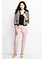 Women's Regular Mid Rise Slim Leg Coloured Cropped  Jeans