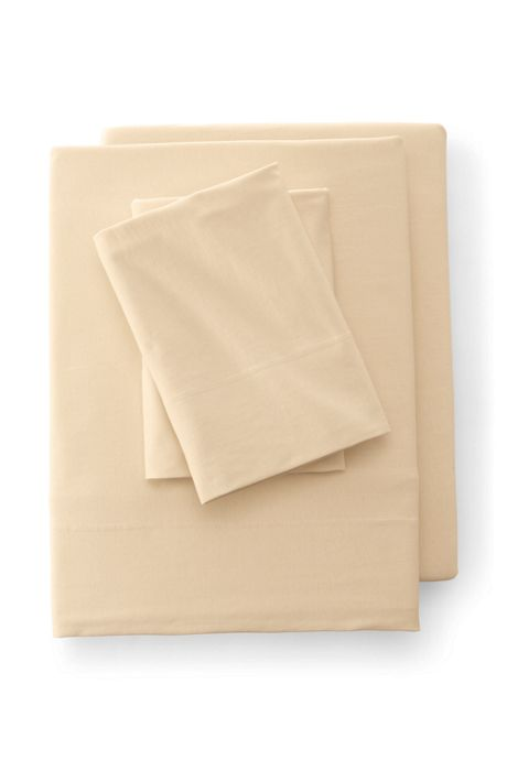 Cotton Jersey Knit Flat Sheet