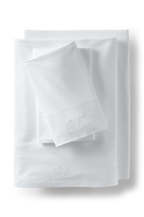Cotton Knit Solid Fitted Sheets