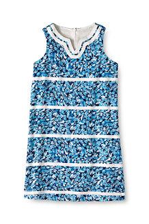 Girls' Embellished Woven Shift Dress
