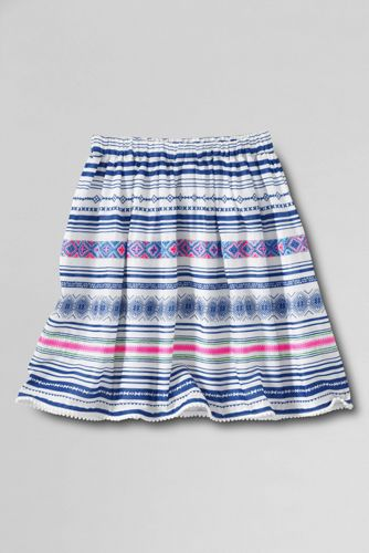Little Girls' Woven Gathered Skirt