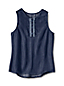 Little Girls' High-Low Sleeveless Top
