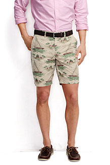Men's Lighthouse Chino Print Shorts
