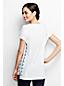 La Tunique en Jersey Brodée Femme, Taille Standard