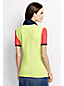 Women's Regular Classic Fit Short Sleeve Colourblock Piqué Polo